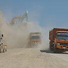 Roadwork Ahead by Werner Padarin