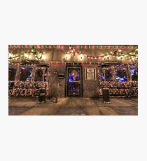 Happy Holidays from Bourbon Street Saloon Harrisburg Photographic Print