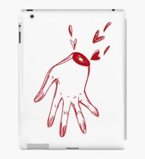 Hand Bleeding Hearts iPad Case/Skin