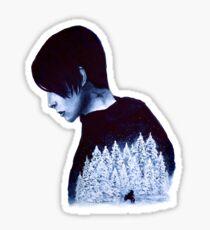 What's Hidden In Snow Sticker
