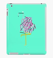 Paper Flamingo iPad Case/Skin