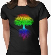 Sunshine, Lollypops and Rainbows Women's Fitted T-Shirt