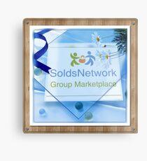 SoldsNetwork  Metal Print