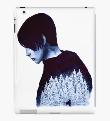 What's Hidden In Snow iPad Case/Skin