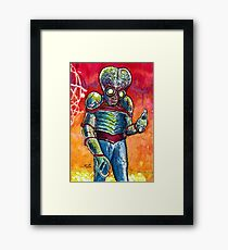 Metaluna Mutant  Framed Print