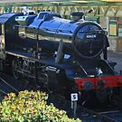 Stanier 8F at Swanage by RedHillDigital