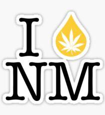 I Dab NM (New Mexico) Sticker