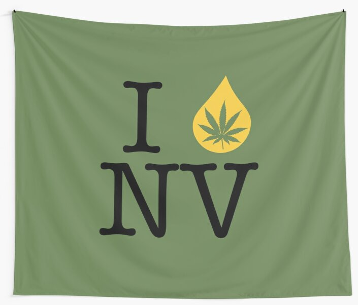 I Dab NV (Nevada) by LaCaDesigns