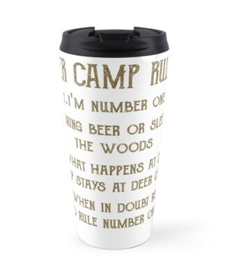 57f088d1 deer camp rules by funny as duck