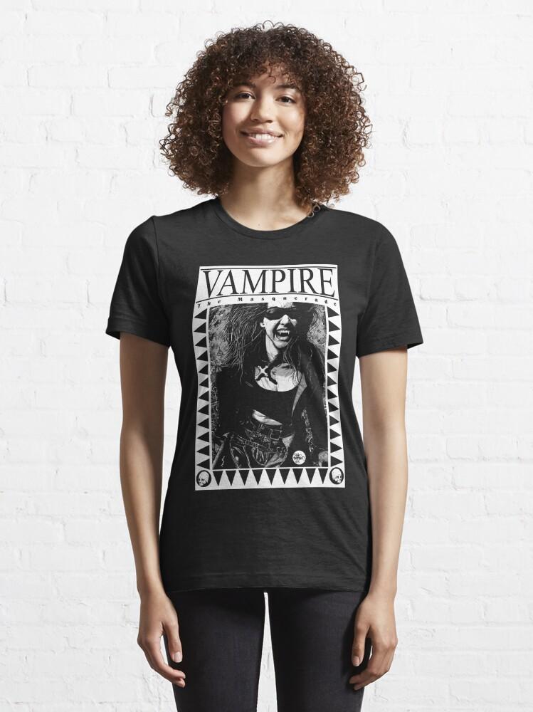 Alternate view of Retro Vampire: The Masquerade Essential T-Shirt