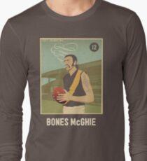 Bones McGhie - Richmond [dark shirt version] Long Sleeve T-Shirt