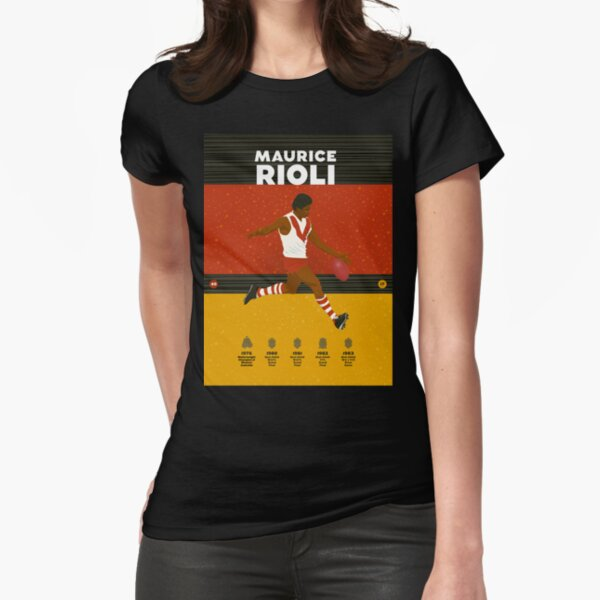 Maurice Rioli - South Fremantle Fitted T-Shirt