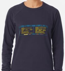 Teleportation Sequence Lightweight Sweatshirt
