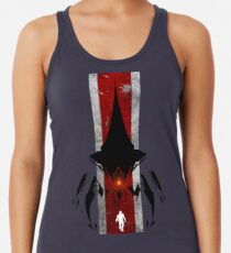 The commander t-shirt & Poster Racerback Tank Top