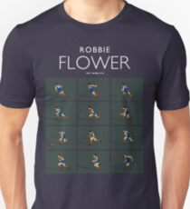Robbie Flower, Melbourne (for dark blue shirts only) Unisex T-Shirt