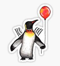 Too Cool Penguin  Sticker