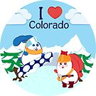 Ernest and Coraline | I love Colorado by Hisame-Artwork