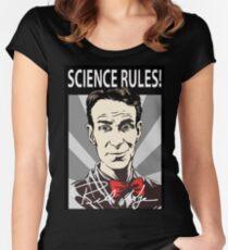 billnye Women's Fitted Scoop T-Shirt