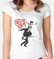 daryl hall and john oates Women's Fitted Scoop T-Shirt