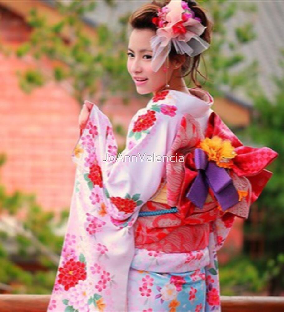 "beautiful japanese girl in kimono""joannvalencia | redbubble"