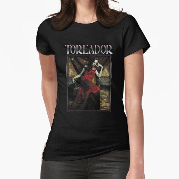 Masquerade Clan: Toreador V20 Fitted T-Shirt