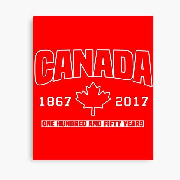 Canada 150th Anniversary Canvas Print