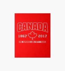 Canada 150th Anniversary Art Board