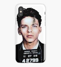 Frank Sinatra Mugshot Colorized iPhone Case/Skin