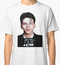 Frank Sinatra Mugshot Colorized Classic T-Shirt