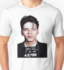 Frank Sinatra Mugshot Colorized Unisex T-Shirt