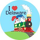 Ernest and Coraline | I love Delaware by Hisame-Artwork