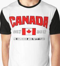 Canada 150 Anniversary Graphic T-Shirt