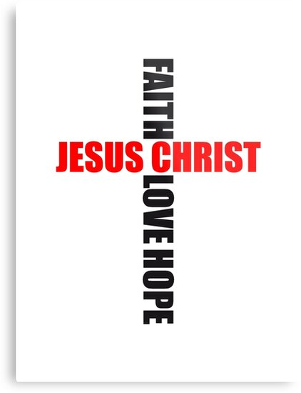 Cross Faith Hope Love Love Hope Faith Symbol Team Crew Friends Jesus