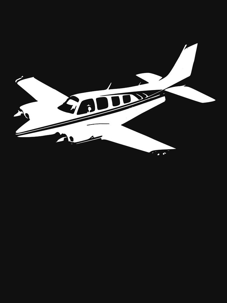 Beechcraft Baron 58 by cranha