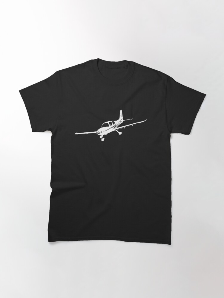 Alternate view of Cirrus Airplane Classic T-Shirt
