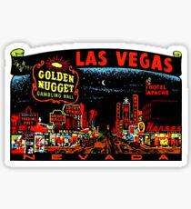 Las Vegas Strip Nevada Vintage Travel Decal Sticker