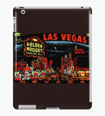 Las Vegas Strip Nevada Vintage Travel Decal iPad Case/Skin