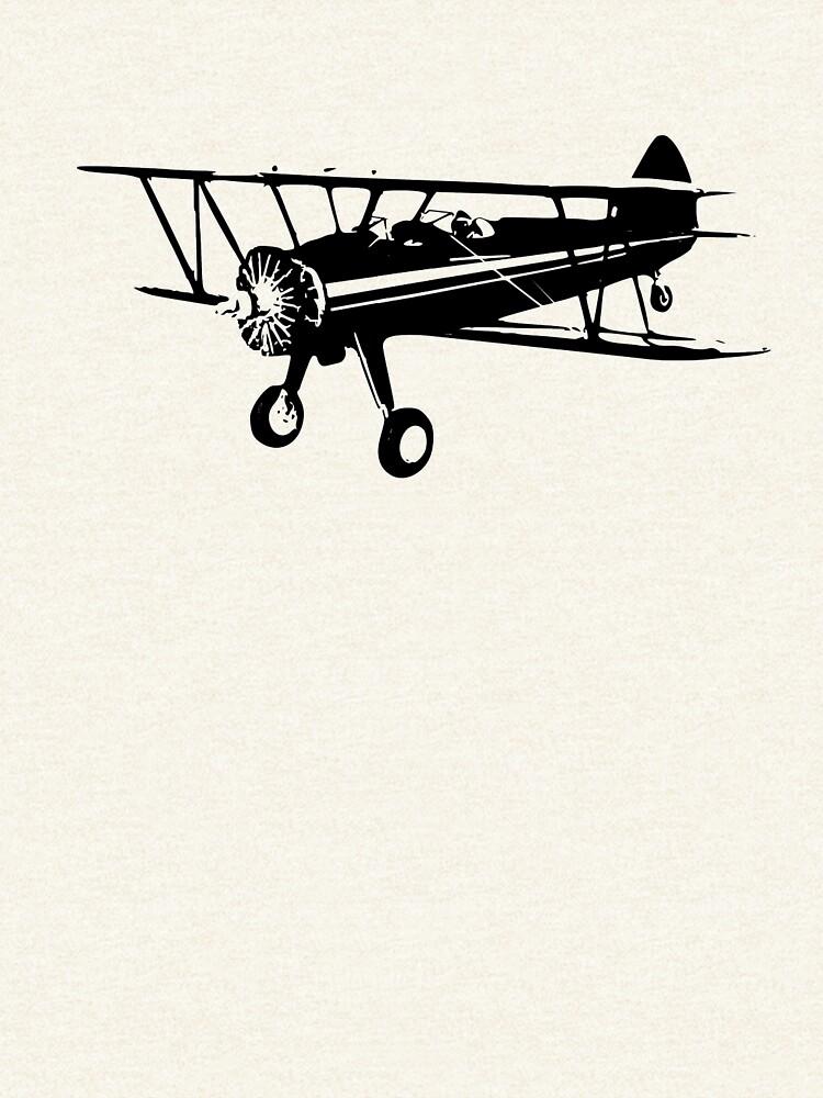 Stearman Biplane by cranha
