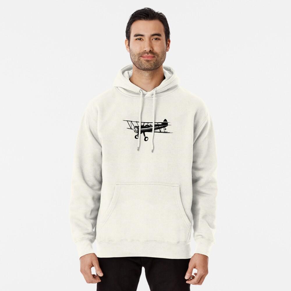 Stearman Biplane Pullover Hoodie