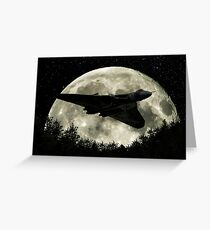 Vulcan Moon Greeting Card