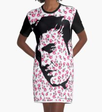 Elvis Presley on Roses by Pasha for Goddamn media  Graphic T-Shirt Dress