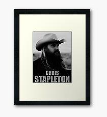 Chris Stapleton Framed Print