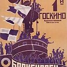 THE BATTLESHIP POTEMKIN Movie Poster by Simon Gentleman