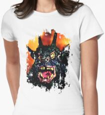 Night of the Demon Women's Fitted T-Shirt