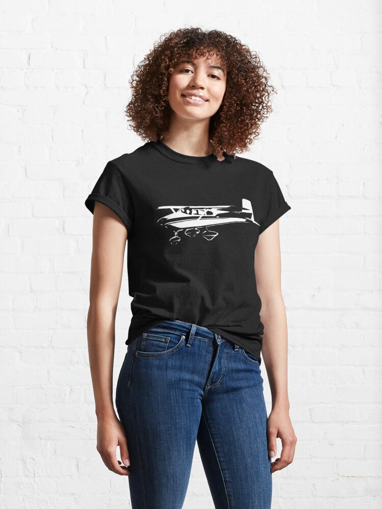 Alternate view of Cessna 182 Vintage Classic T-Shirt