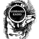 Goddamn Radio logo by Pasha for Goddamn Radio by Pasha du Valentine
