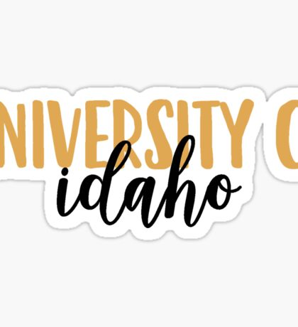 University of Idaho Sticker