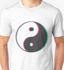 YinYang Transparent Tumblr Style Unisex T-Shirt