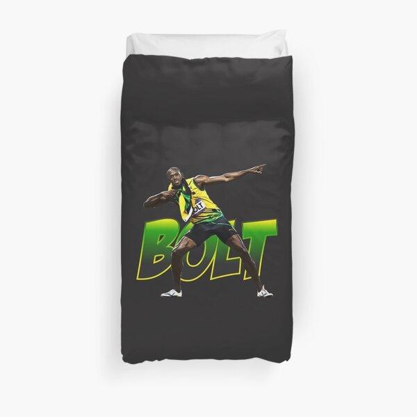 Usain Bolt Duvet Cover