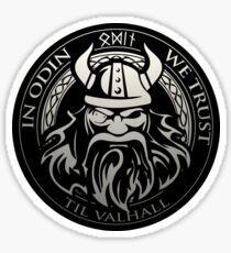Get! In Odin We Trust - Valhalla collection Sticker